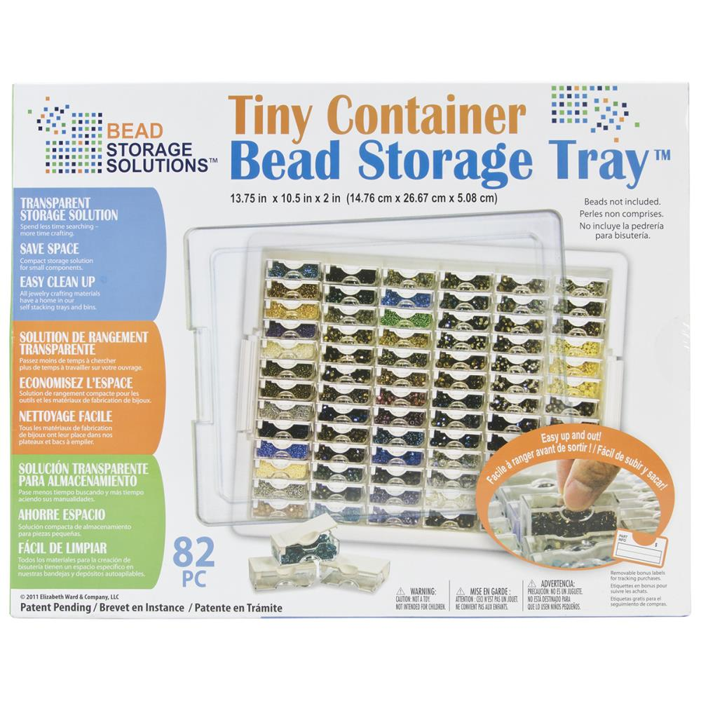 Tiny Bead Storage Tray