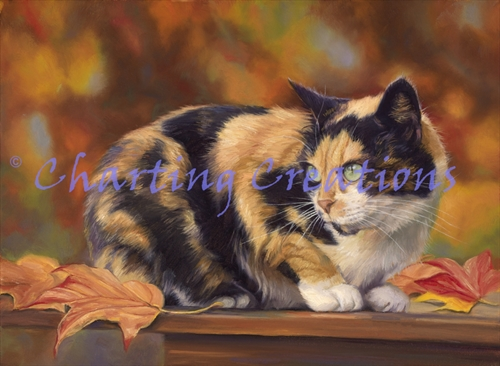 Calico In The Fall