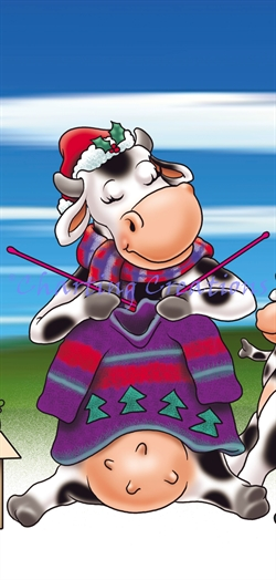Snippet Christmas Cows