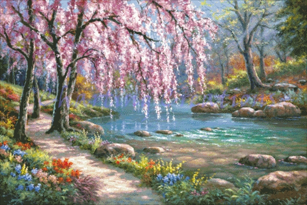 Cherry Blossom Creek