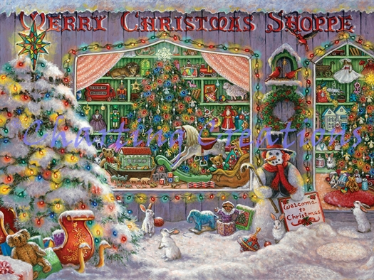 Merry Christmas Shoppe Large Kit