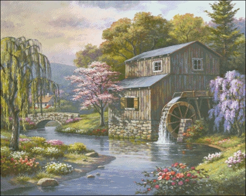 Spring At The Mill