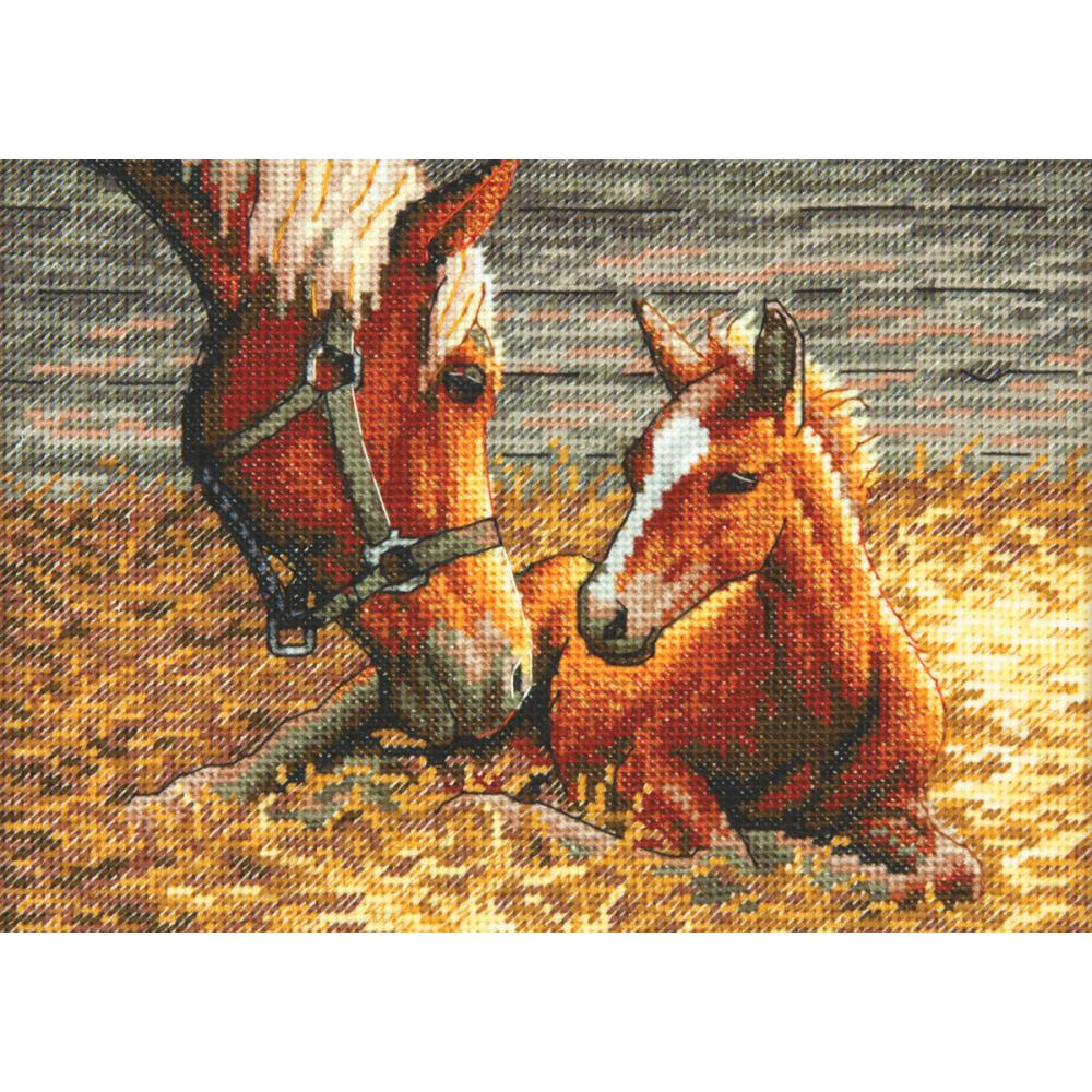 Gold Petites Good Morning Counted Cross Stitch Kit