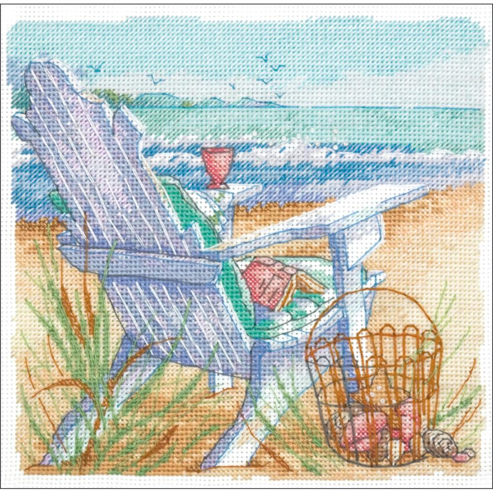 Gold Petites Tide View Counted Cross Stitch Kit
