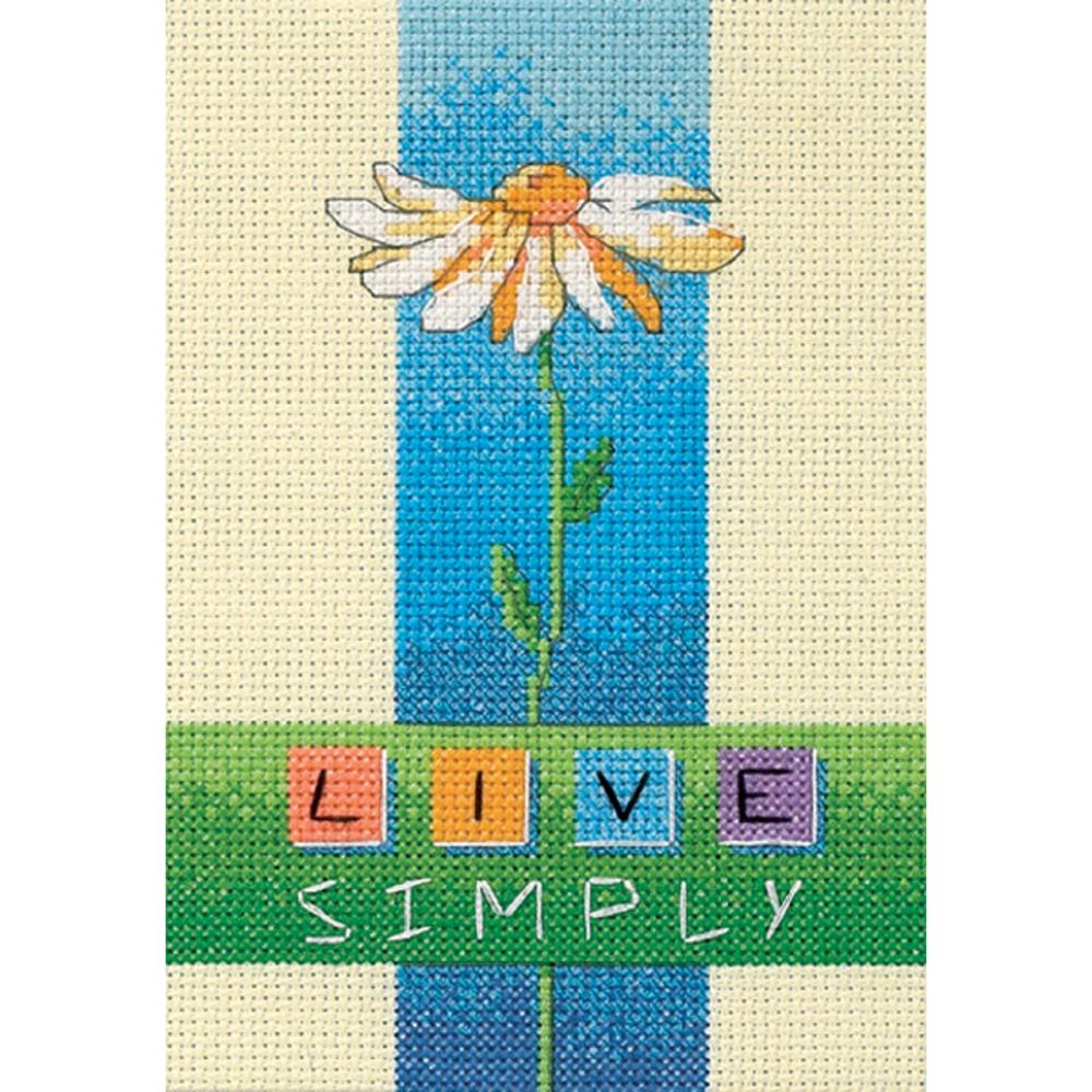 Mini Live Simply Counted Cross Stitch Kit