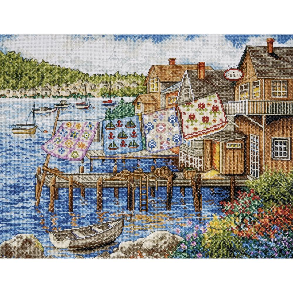 Dockside Quilts Counted Cross Stitch Kit
