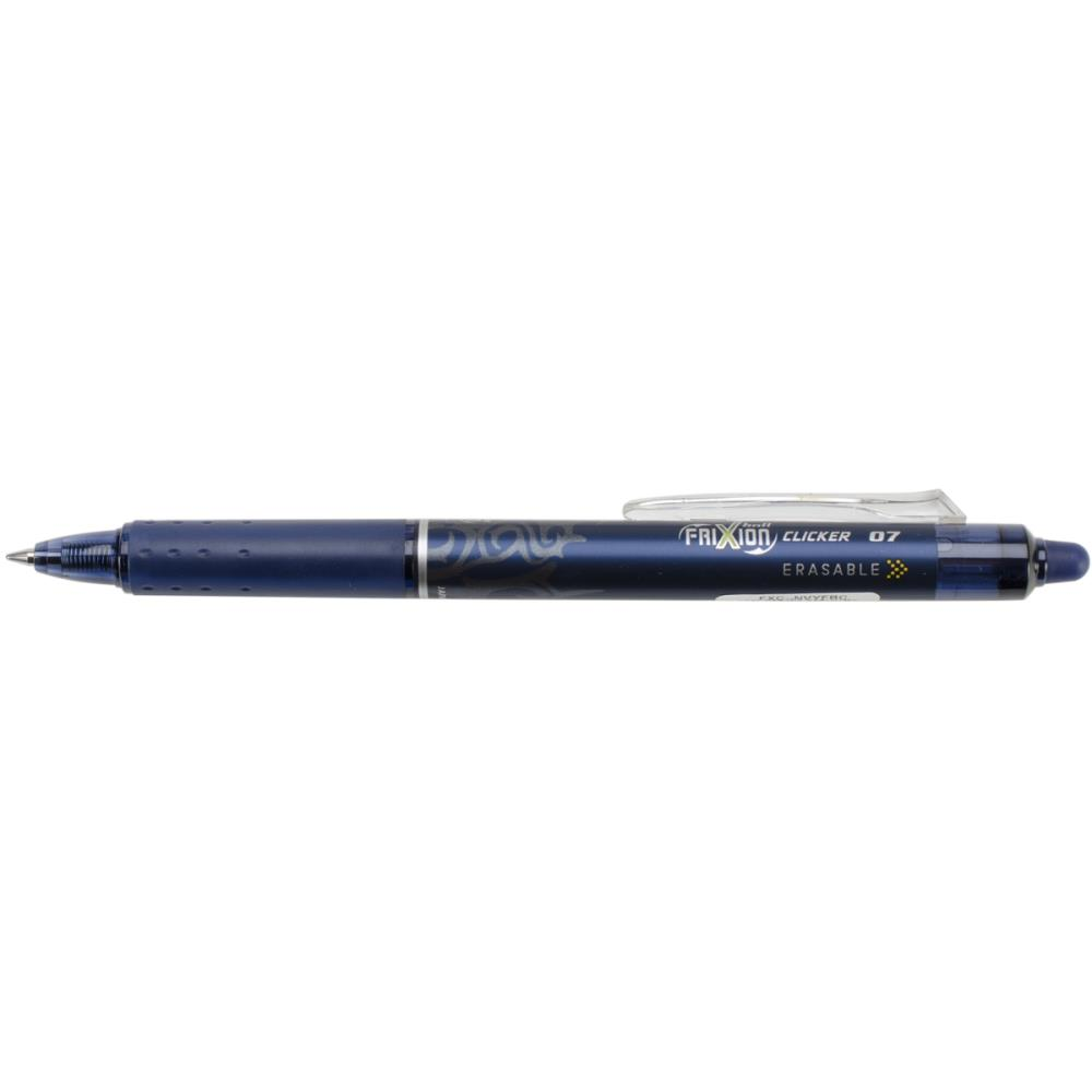 Pilot FriXion Navy Fine Point Clicker Erasable Pen