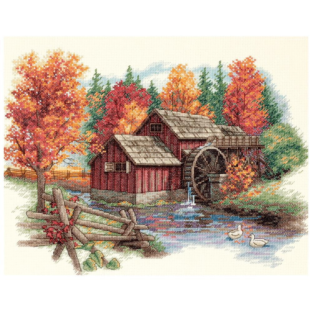 Glory Of Autumn Counted Cross Stitch Kit