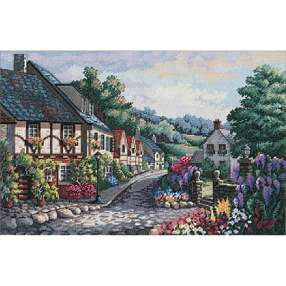 Gold Collection Memory Lane Counted Cross Stitch Kit