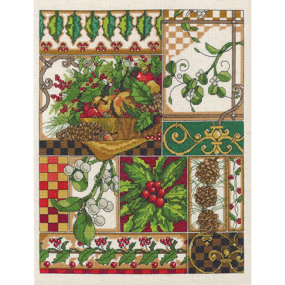 Winter Montage Counted Cross Stitch Kit