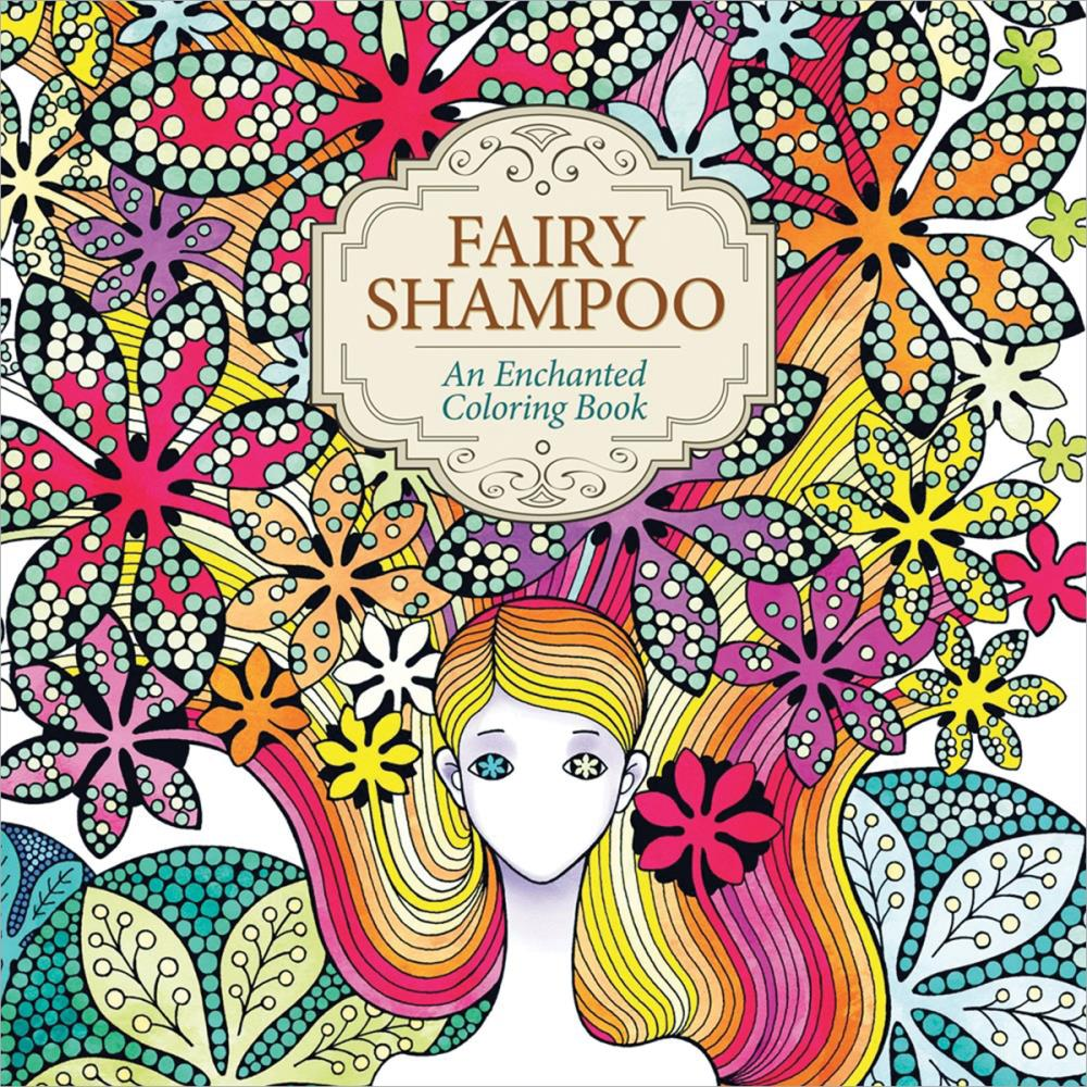 Fairy Shampoo Enchanted Coloring Book