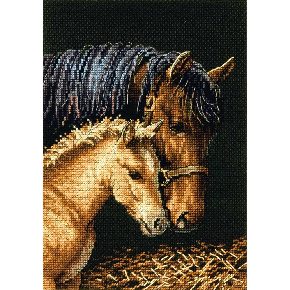 Gold Petites Gentle Touch Counted Cross Stitch Kit