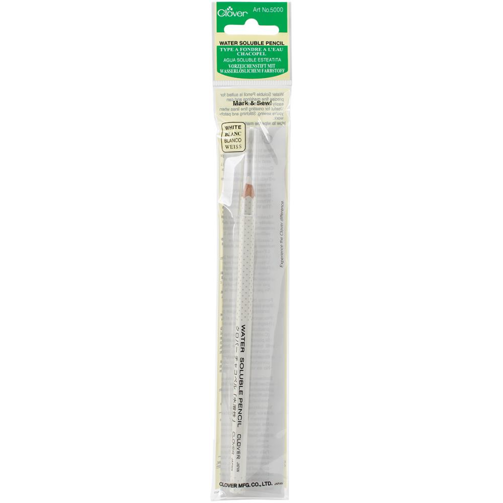 Water-Soluble Pencil - White