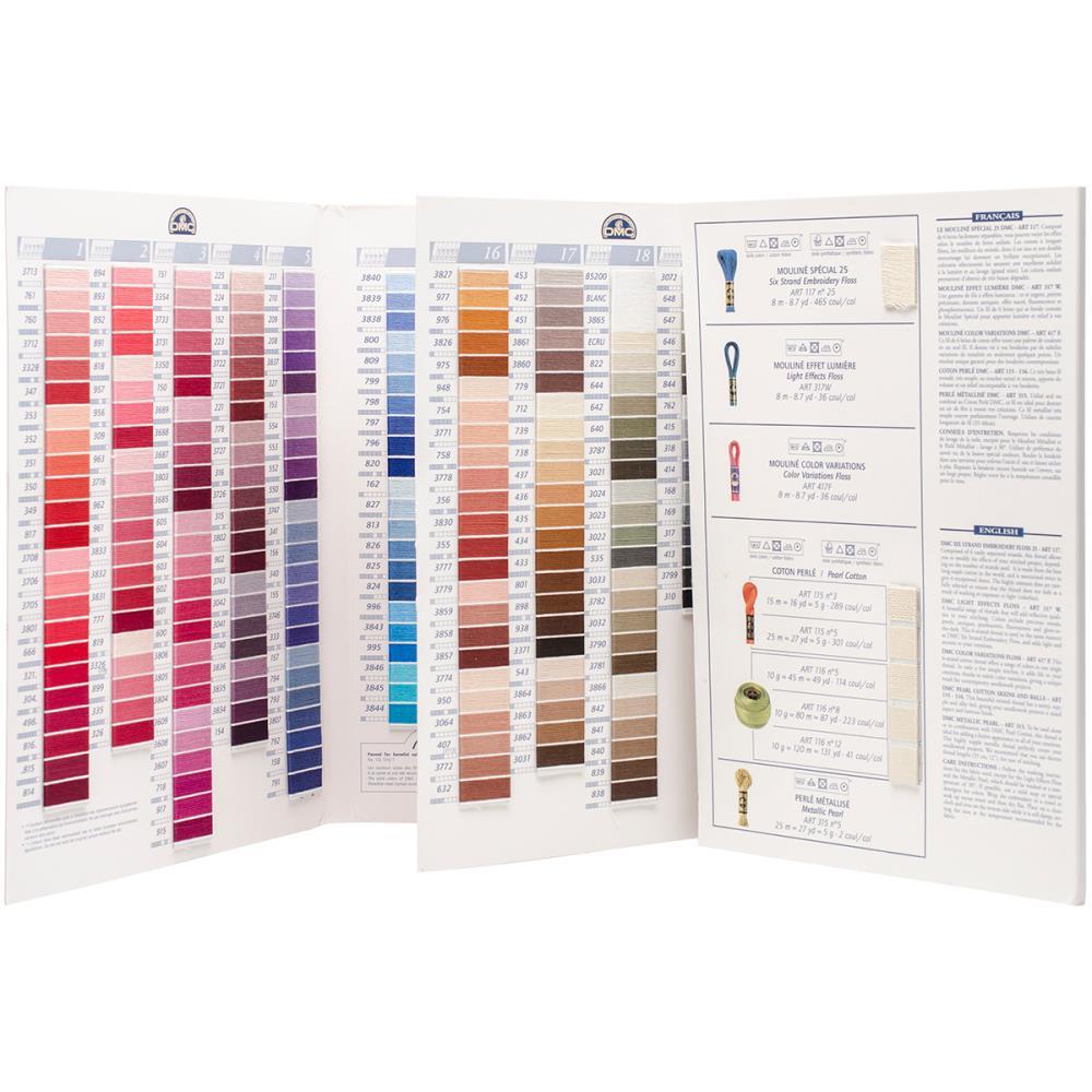 Dmc Floss Color Chart W100b 2499 Usd Charting Creations