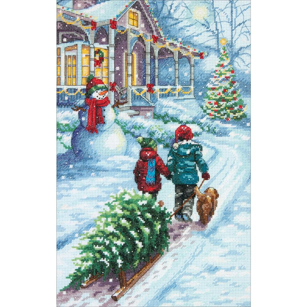 Christmas Tradition Counted Cross Stitch Kit