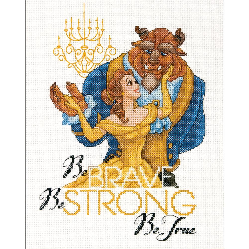 Disney Be Brave Counted Cross Stitch Kit