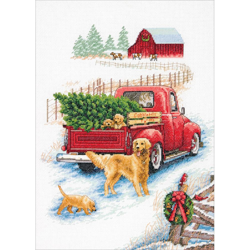 Winter Ride Counted Cross Stitch Kit