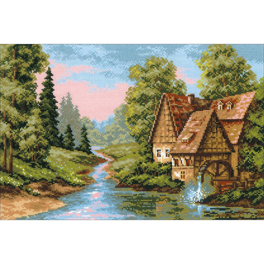 The Mill (14 Count) Counted Cross Stitch Kit