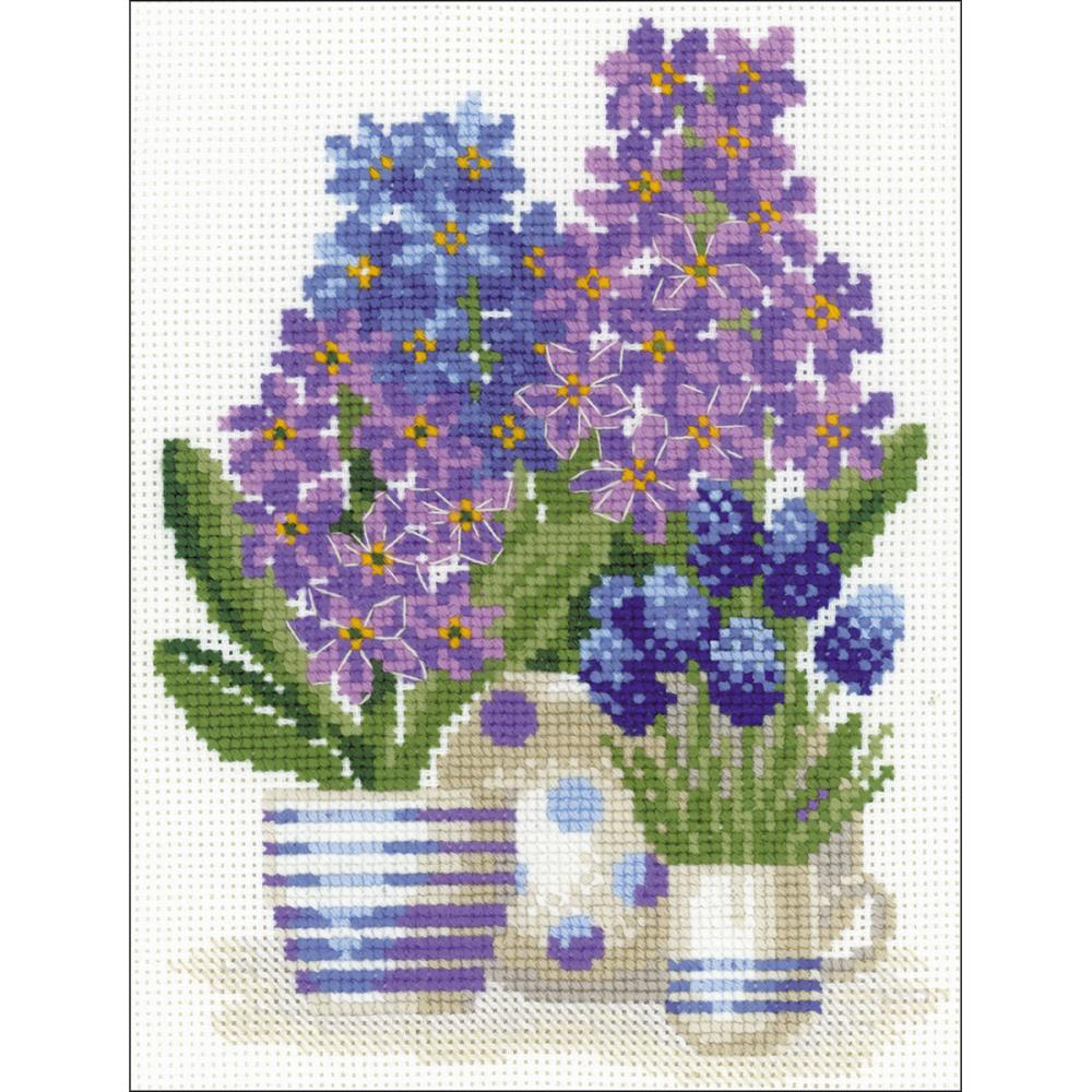 Hyacinths (10 Count) Counted Cross Stitch Kit