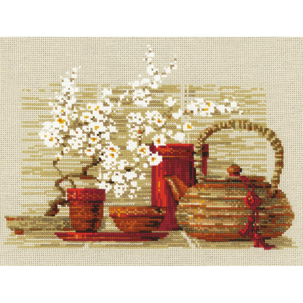 Tea (14 Count) Counted Cross Stitch Kit