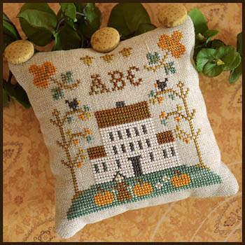 Little House ABC Samplers 1 -Little House ABC