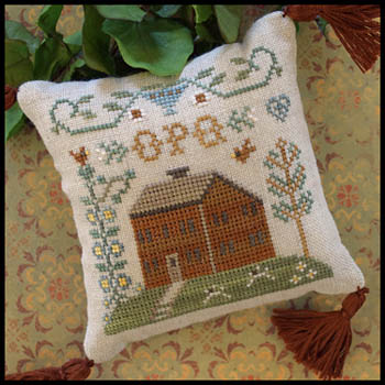 Little House ABC Samplers 6 -Little House OPQ
