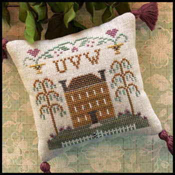 Little House ABC Samplers 8 -Little House UVW