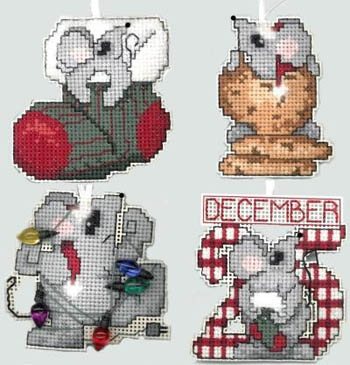 Chris-Mice Ornaments
