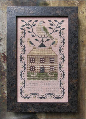 Miniature Quaker Sampler