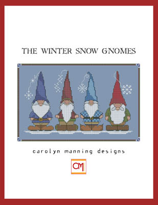 Winter Snow Gnomes