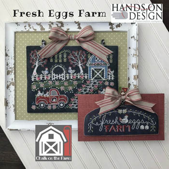 Fresh Eggs Farm - Chalk On The Farm