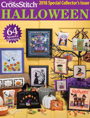 2018 Just Cross-Stitch Halloween Special Collector's Issue