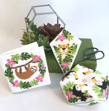 Jungle Sewing Set