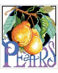 Crate Label Pears