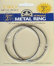 "2-1/2"" Metal Craft Ring"