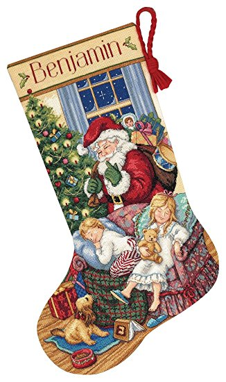 Gold Collection Sweet Dreams Stocking Counted Cross Stitch Kit