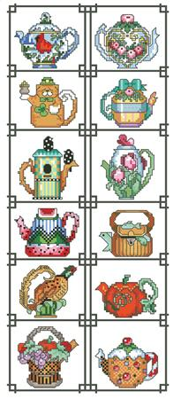 Teapot of the Month Sampler