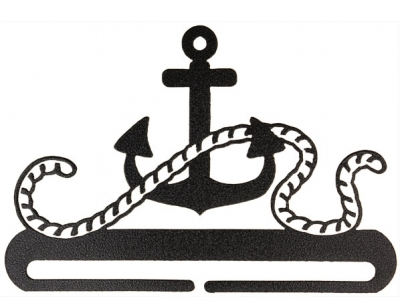 Anchor Split Bottom - Charcoal 12""