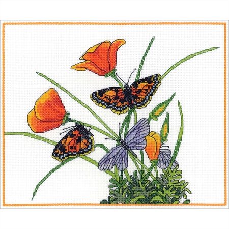 Divine Breath Counted Cross Stitch Kit