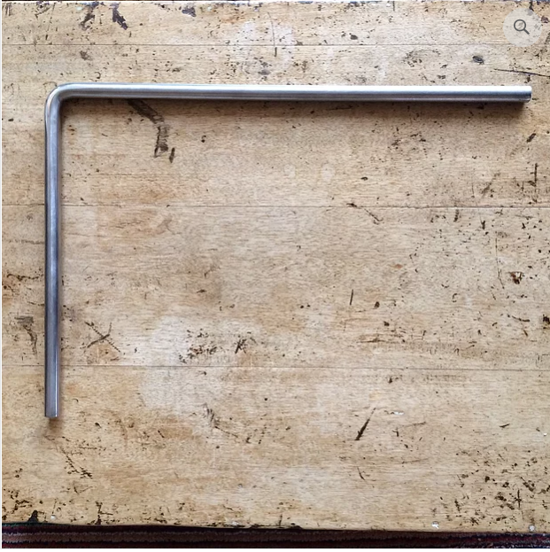 "Extra Long L Bar 18"" x 12"" For Silver Grey Stand"
