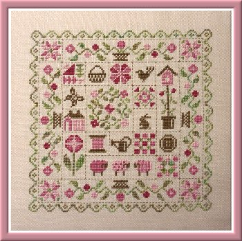 Patchwork Printemps - Click Image to Close