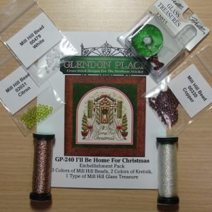 I'll Be Home For Christmas Embellishment Pack