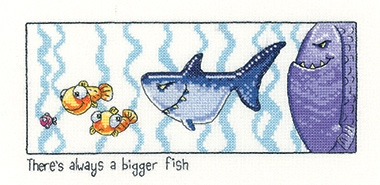 Always A Bigger Fish - Peter Underhill Collection