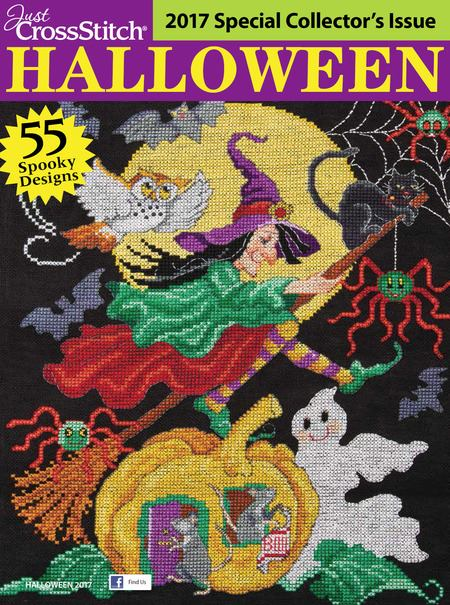 Just Cross-Stitch Halloween Special Collector's Issue 2017