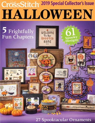 2019 Just Cross-Stitch Halloween Special Collector's Issue