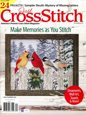 Just Cross-Stitch - November/December 2017
