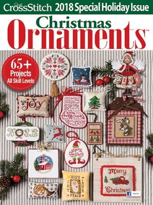 2018 Just Cross Stitch Christmas Ornaments Issue