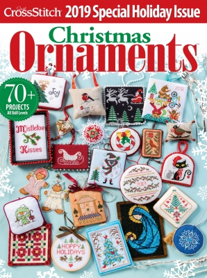 2019 Just Cross Stitch Christmas Ornaments Issue