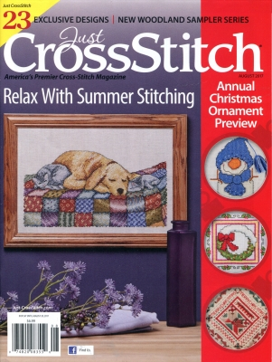 Just Cross-Stitch July/August 2017
