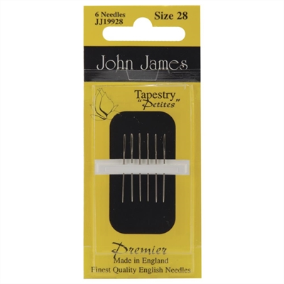 John James Tapestry Needles - Size 28 Petites